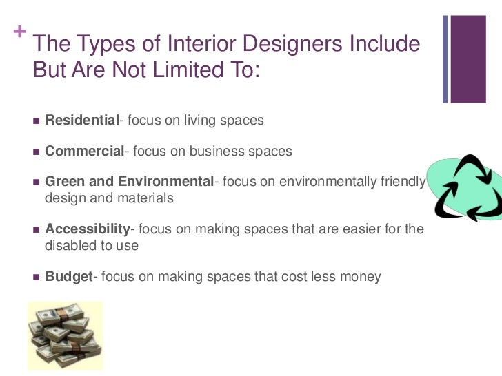 Br 3 The Types Of Interior Designers