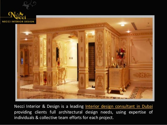 Interior designers company in dubai for Interior design consultant company
