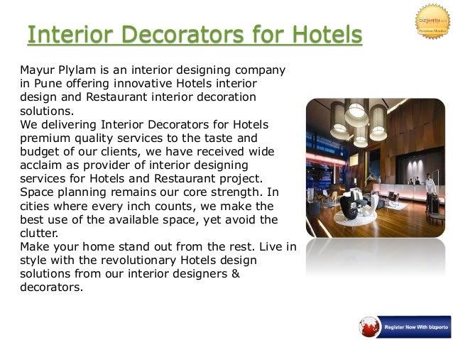 Interior designers in pune mayur plylam