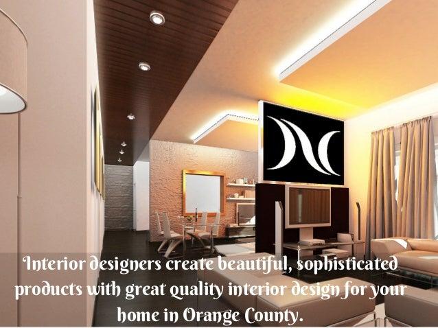 Model Home Interior Designer Orange County
