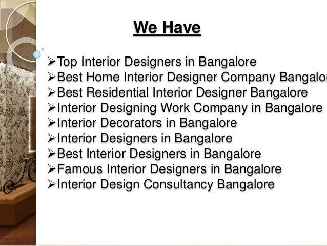 Interior Decorators in Bangalore Make Your Home Beautiful