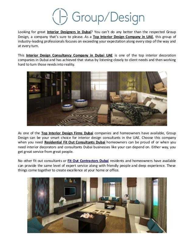 interior decoration companies in dubai