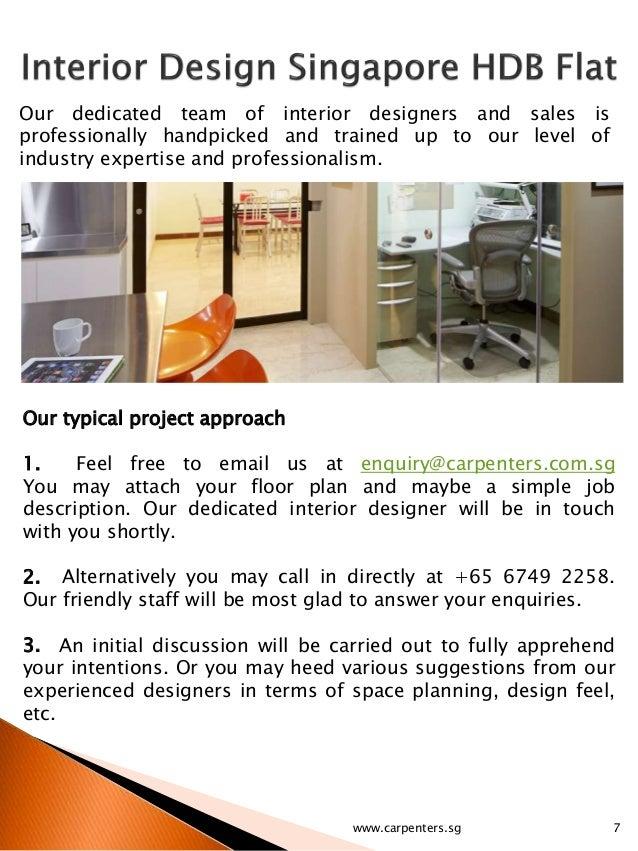 6carpenterssg 7 Our Dedicated Team Of Interior Designers And Sales
