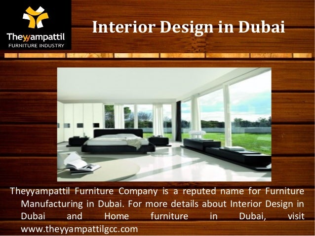 Interior design company names in dubai for Interior decoration companies in dubai