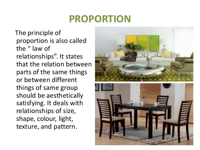 Scale and proportion in interior design ppt www Scale and proportion in interior design