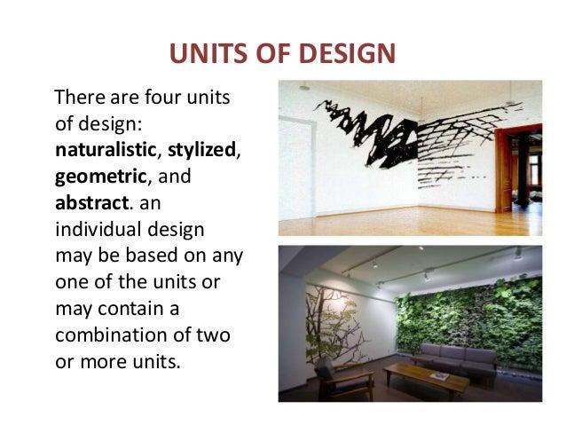 46 UNITS OF DESIGN