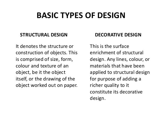 6. BASIC TYPES OF DESIGN STRUCTURAL ...