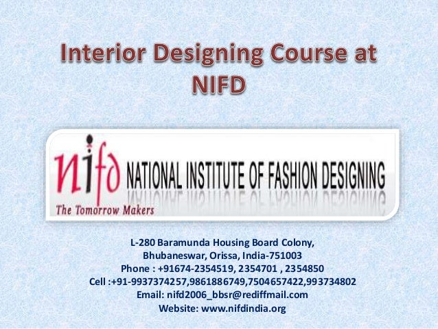 Interior designing course at nifd for About interior designing course
