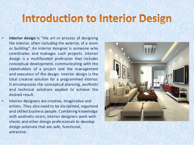 Interior designing course at nifd
