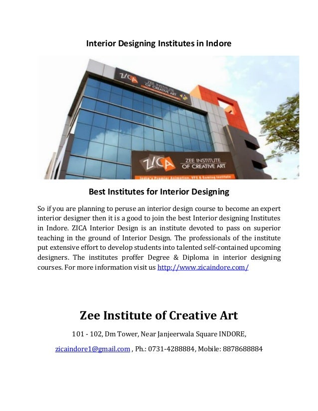 Interior Designing Institutes In Indore Best For So If You Are Planning To
