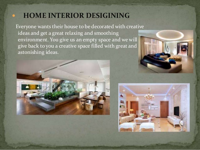 elements of interior design powerpoint template