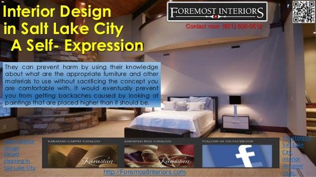 Interior design in salt lake city a self expression