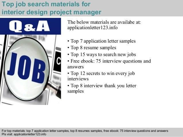 5 Top Job Search Materials For Interior Design