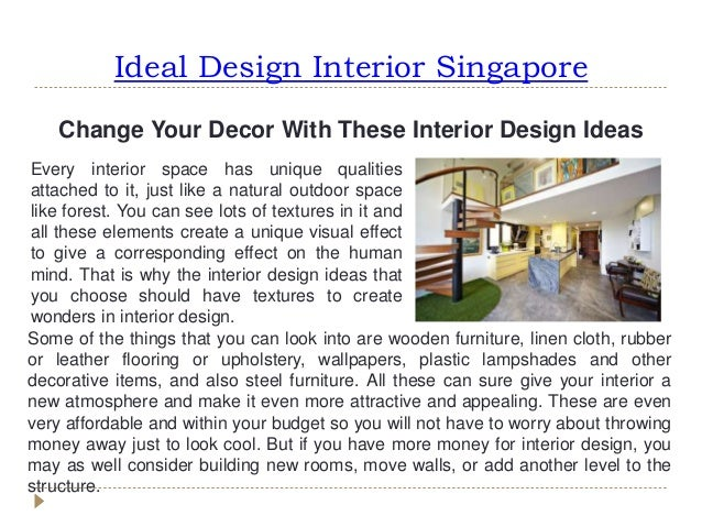 3 Ideal Design Interior Singapore