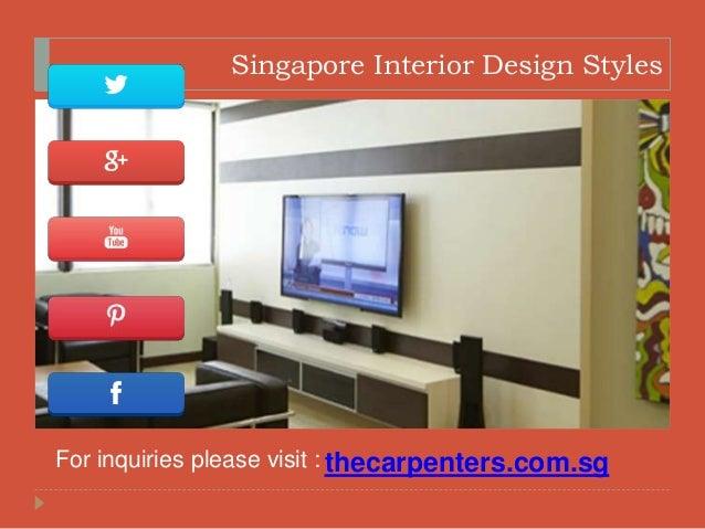 5 Singapore Interior Design