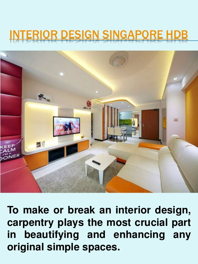 Interior Design For Hdb: Interior Design Singapore HDB