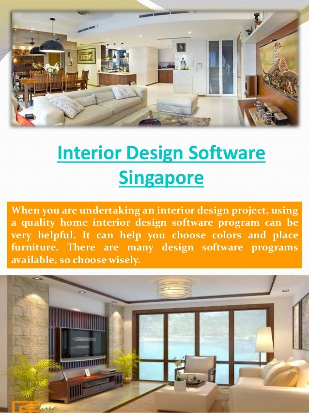 Interior Design Software Singapore When you are undertaking an interior  design project, using a quality ...