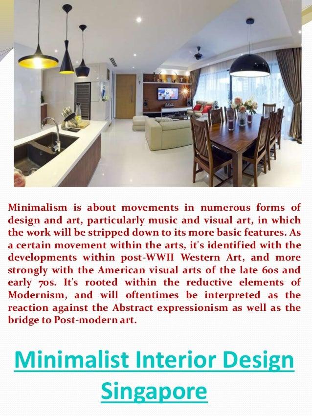 3 Minimalist Interior Design Singapore