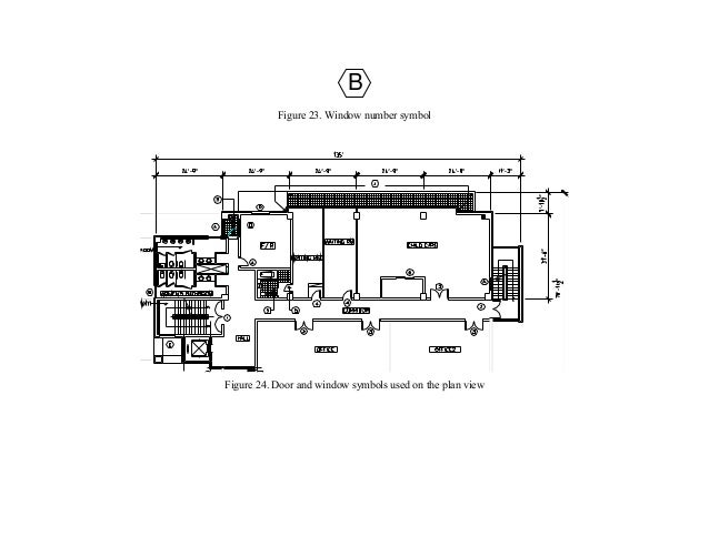 Floor Plan Title Block By Interior Design Student Handbook