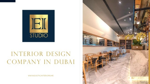 Successful Interior Design Company In Dubai Exotic Interiors