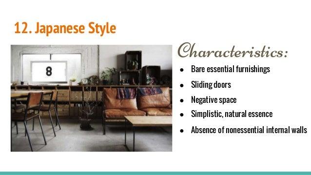 Contemporary Interior Design Style Characteristics: Interior Design Styles