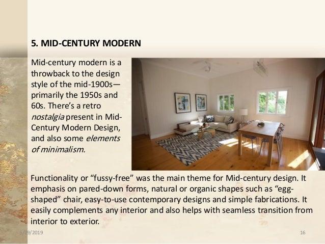 Interior Design Styles 1