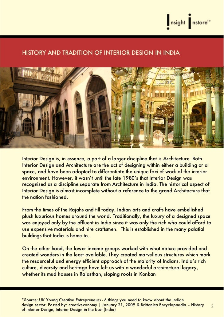 Interior Design In The East India 4 Or