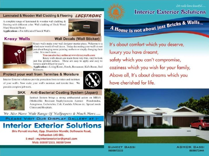 Exterior solutions for All american exterior solutions