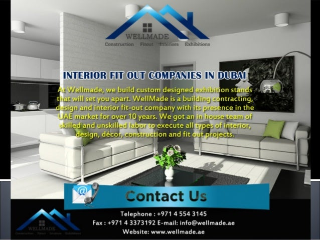 Interior fit out contractors for Interior companies in dubai