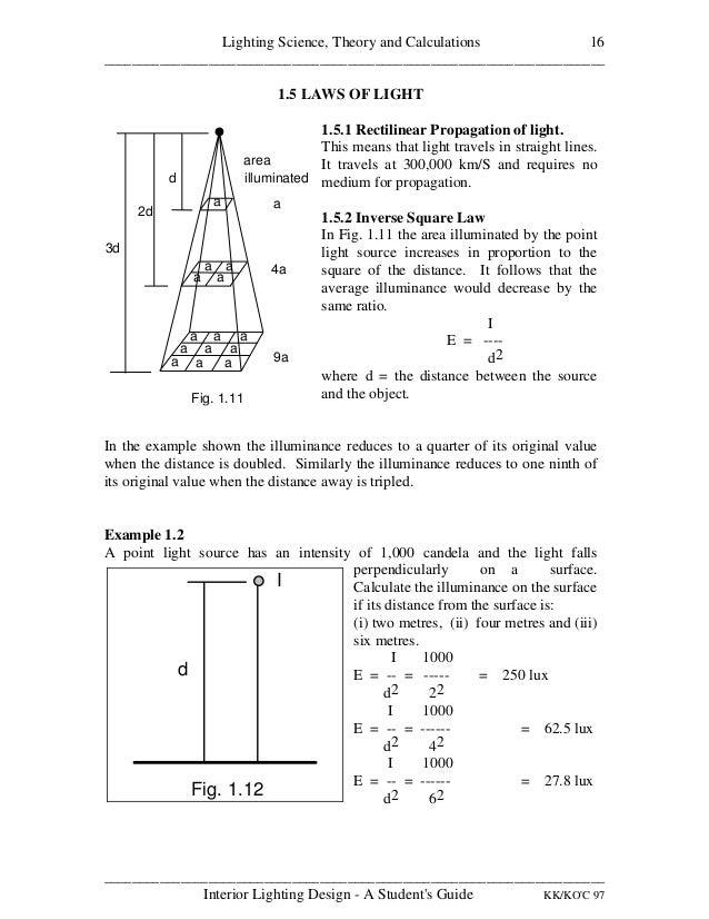 INTERIOR LIGHTING DESIGN A STUDENT'S GUIDE