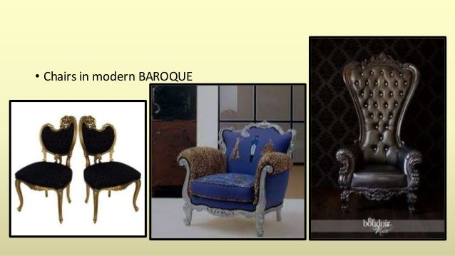 Chairs In Modern BAROQUE; 30. U2022 Tables And Wardrobe; 31.