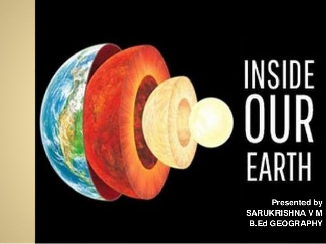 how to make the interior of the earth
