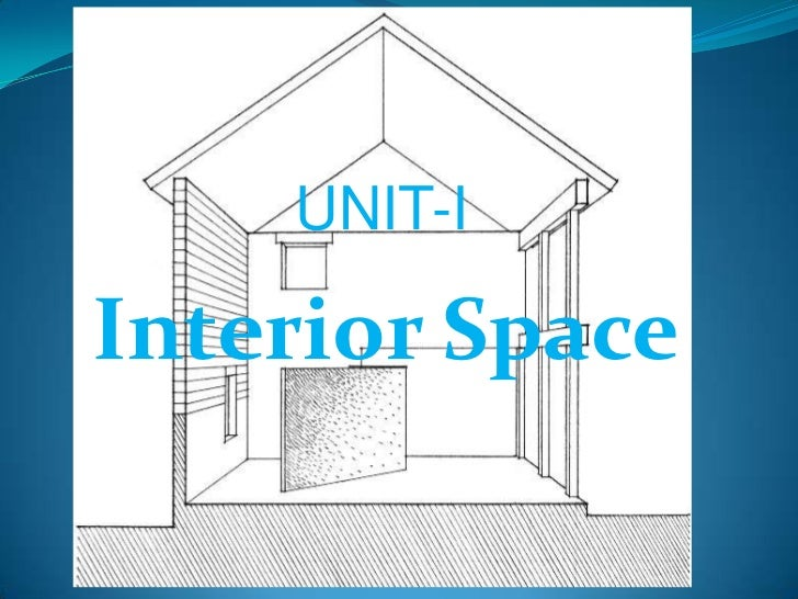 UNIT-IInterior Space