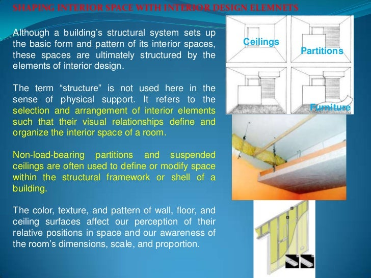 Interior space for Structural interior design