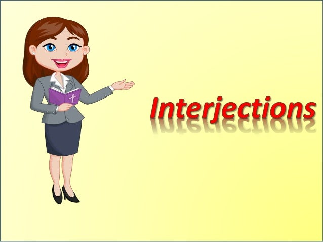 What is Interjections?