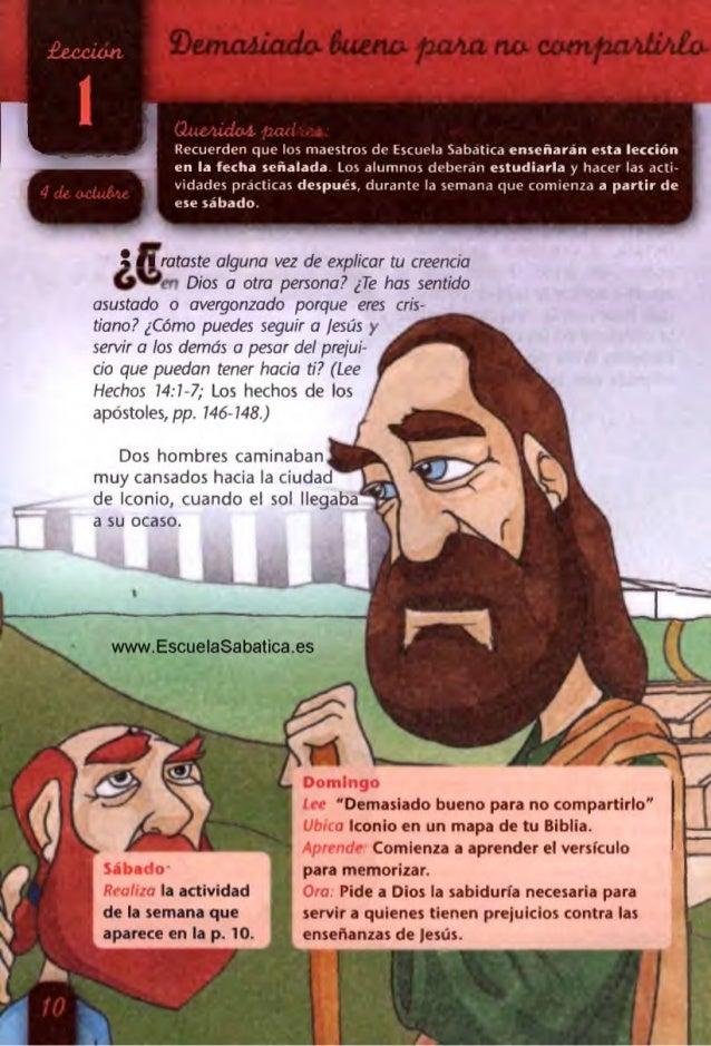 Jimi' 'dig-Lt!  tuu  Recuerden que los maestros de Escuela Sabatica enseñaran esta lección en la fecha señalada Los alumno...