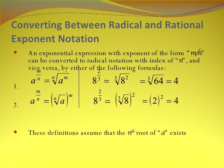 math133 unit 3 radicals and rational Math133 unit 3: radicals and rational exponents math133 unit 3: radicals and rational exponents discussion board assignment: version 2a show all of your work details for these calculations please review this web.