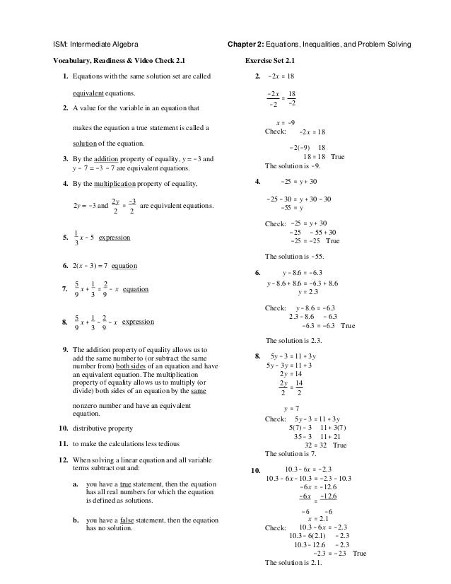 Intermediate algebra 7th edition martin gay solutions manual fandeluxe Images