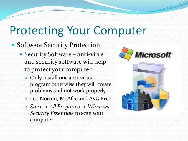 ... 35. Protecting Your Computer  Software ...  Computer Software Skills