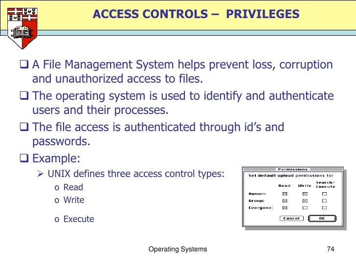 Intermediate Operating Systems