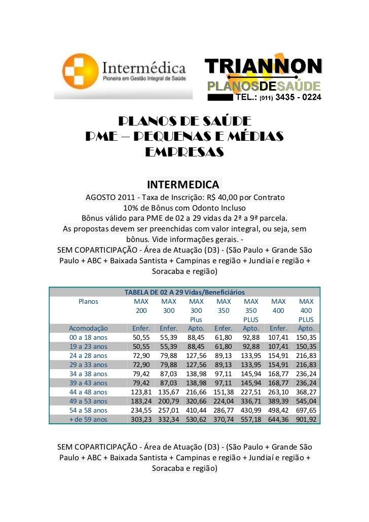 Intermedica   pme - novembro11