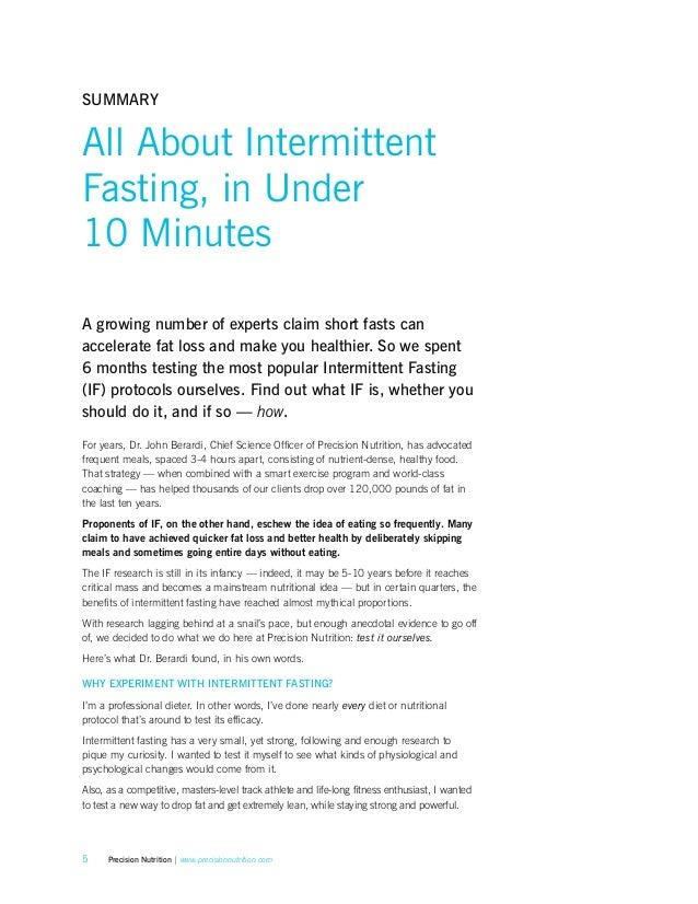 Intermittent Fasting Precision Nutrition 2