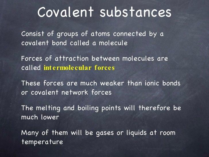 Network Covalent Bonds At Room Temperature