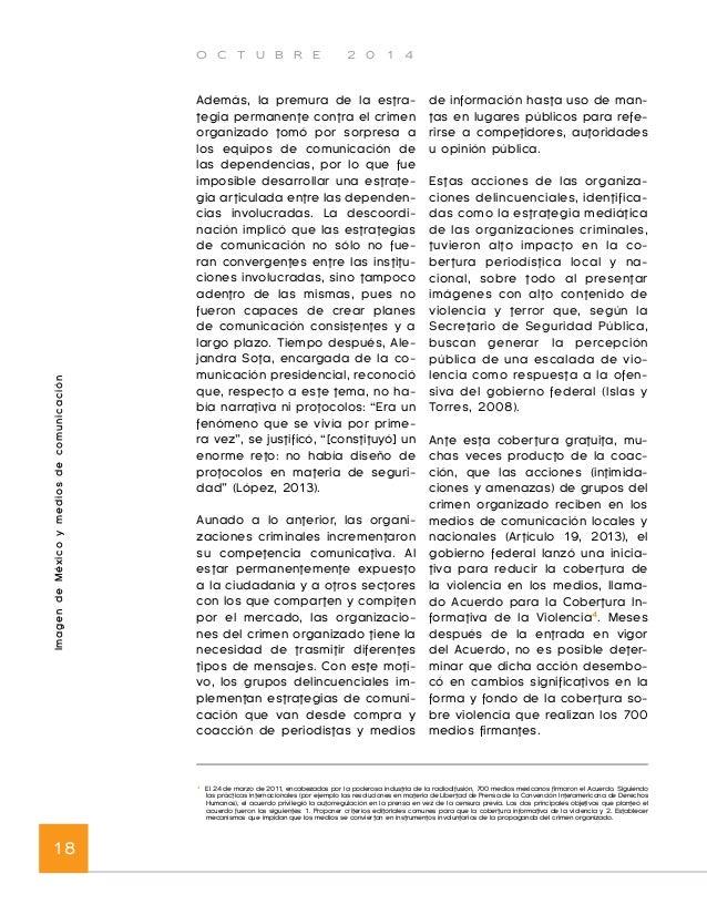 O C T U B R E 2 0 1 4  Imagen de México y medios de comunicación 20  2010, Hillary Clinton, secretaria de  Estado estadoun...
