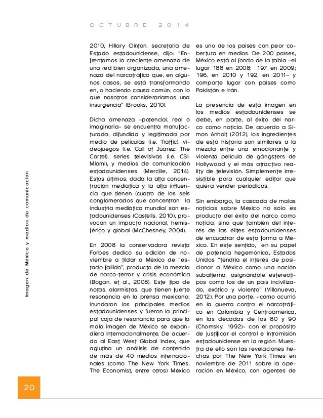 O C T U B R E 2 0 1 4  Imagen Internacional de las Entidades Subnacionales 22  Imagen internacional de  las entidades  sub...