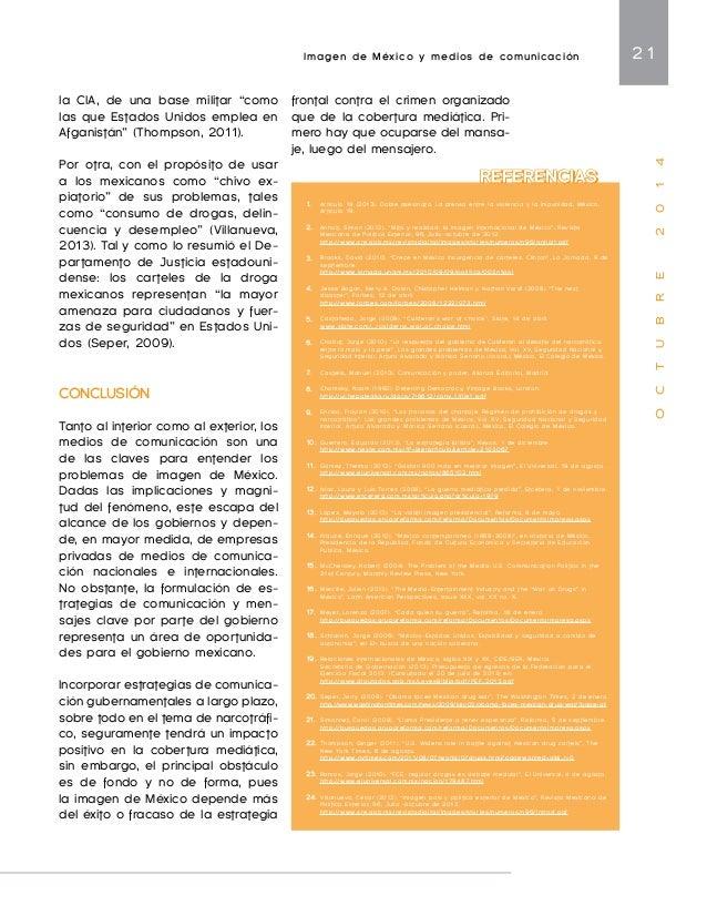 Imagen Internacional de las Entidades Subnacionales 23  O C T U B R E 2 0 1 4  no sean tratadas como estrategias  de merca...