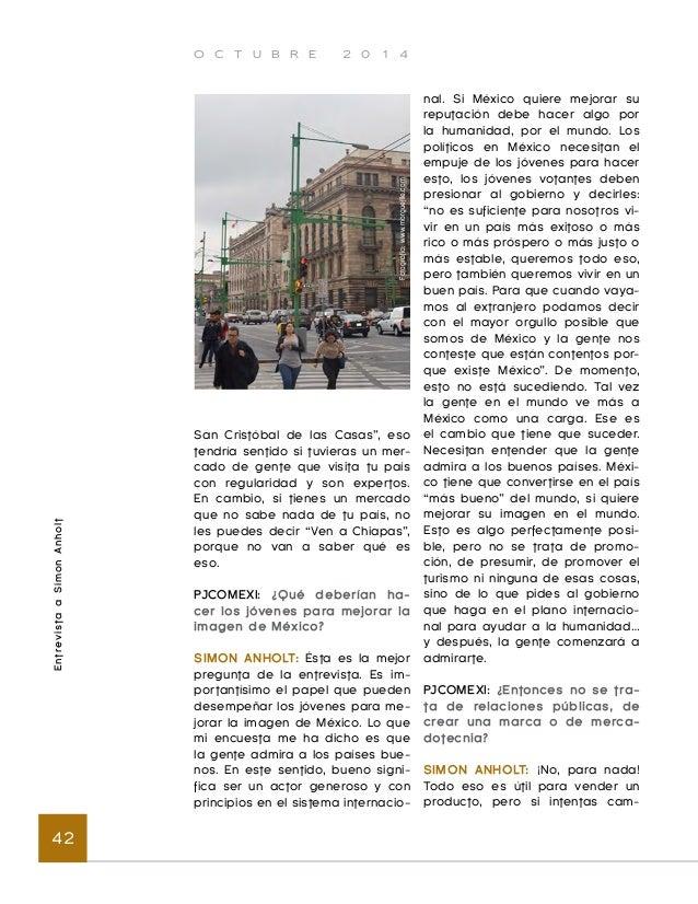 O C T U B R E 2 0 1 4  Bases para las estrategias de representación y promoción internacional de México 44  Introducción  ...