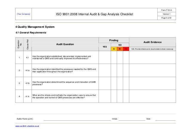 Internal audit-checklist-example