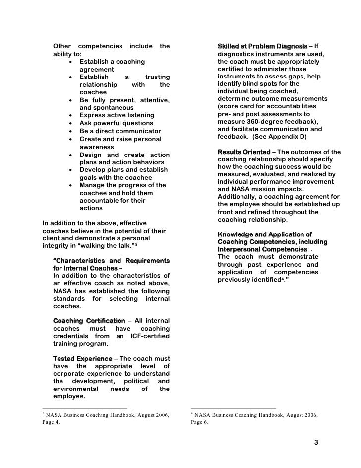 General Service Agreement Form Service. Internal Coaching Guide