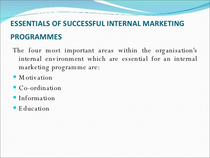 internal marketing If you've ever made an external or internal marketing failures, you're not alone here are 3 examples of communication gone wrong.